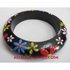 Bangle Wooden Painting