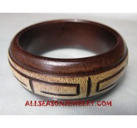 Bangles Wood Carving