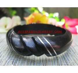 Bangles Wood Stainless