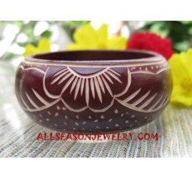 Bangles Wooden Carvings