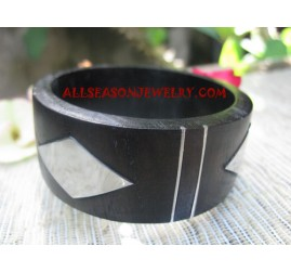 Bangles Wooden Stainless