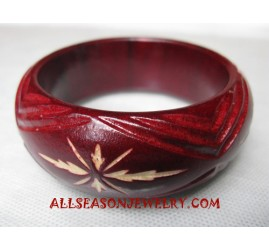 Carving Bangles Wooden