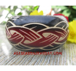 Carving Woods Bangle