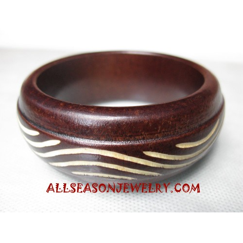 Carving Woods Bangles