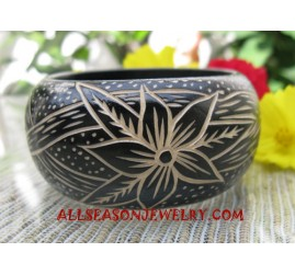 Carvings Bangle Wooden