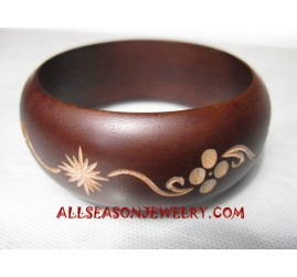 Carvings Bangles Wooden