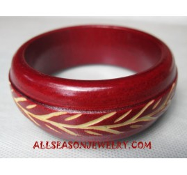 Carvings Wood Bangles