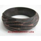 Carvings Wooden Bangle