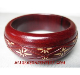 Carvings Woods Bangle