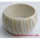 Coconut Resin Bangle