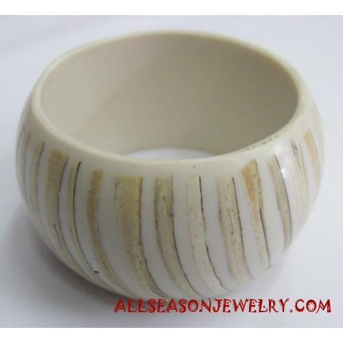 Coconut Resin Bangle