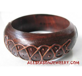 Fashion Bangle Wood Painting