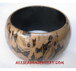 Girls Wood Bangle
