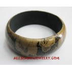 Handpainted Bangle Wooden