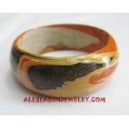 Handpainted Bangle Woods