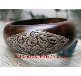 Handpainted Bangles Wooden
