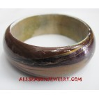 Handpainted Woods Bangles