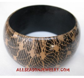 Handpaintings Woods Bangle