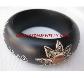 Ladies Wood Bangle Painting