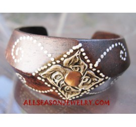 Ladies Wood Bangles