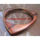 Natural Wood Bangle