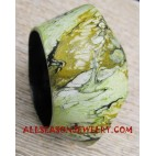 Painted Wood Bangles