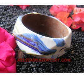 Painting Bangles Wooden