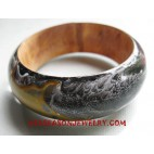 Painting Woody Bangle