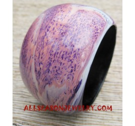 Painting Wooden Bangle