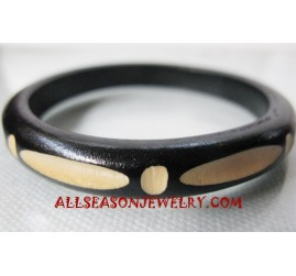 Small Wood Bangle Carving