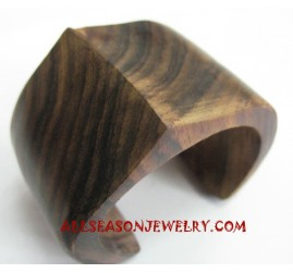 Sono Wooden Bangle