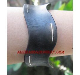 Stainless Woods Bangles