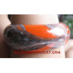 Women Bangle Wood Painting