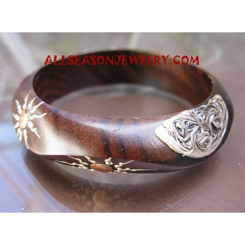 Women Wooden Bangle