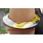 Women Wooden Bangle Painting