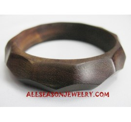 Wood Bangle Carving