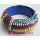 Wood Bangle Handpaintings