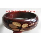 Wood Bangles Carvings