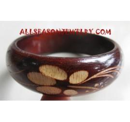 Wood Bangles Carvings