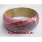 Wooden Bangle Handpaintings