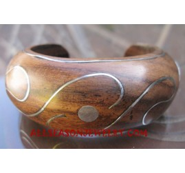 Wooden Bangles Handpainted