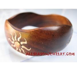 Wooden Bangles Handpainting