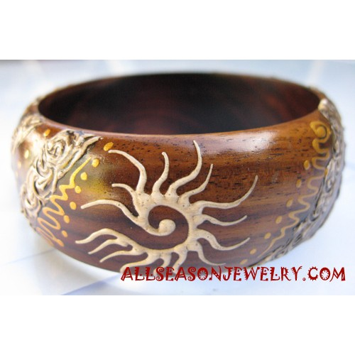 Wooden Bangles Paintings
