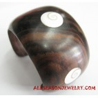 Wooden Shell Bangle