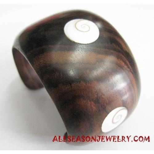 Wooden Shell Bangle