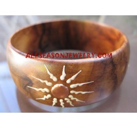 Woods Bangle Painted