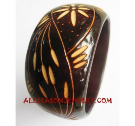 Woods Bangles Carving