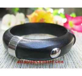 Woods Stainless Bangles