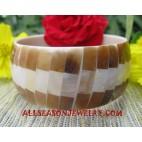 Bangle Resin Seashells
