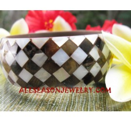 Bangles Resin Seashell